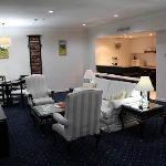 Jakarta Suite: Living area