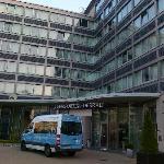vista ingresso hotel