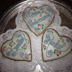 heart shaped cookies!!