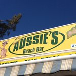 Aussies beach bar