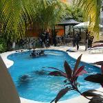 cours de plongé à la piscine!
