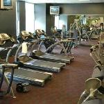 A fitness center