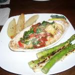 Haddock Mediterranean is a really good menu choice.