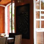 Otra vista del interior del restaurante