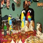 Artesanía de los indígenas Pemones Gran Sabana Venezuela