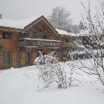 Chalet Flo - After a Fresh Fall of Snow