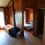 Clean wooden interior