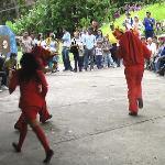 Los diablos del Yare. Baile típico de un pueblo
