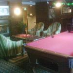 Pool Table lounge area adjacent to Bar