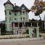 Inn on Mackinac street view