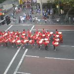View from our room - Chinese New Year Parade!