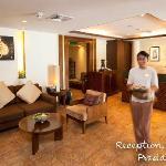 Ananda Spa's Lobby