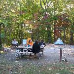 campsite at Bandy Creek Campground