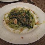 pasta w/ greens