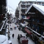 Zermatt from hotel
