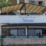 Nettuno Restaurant viewed from the harbour area August 2011