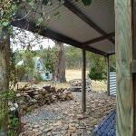 BBQ Hut front verandha