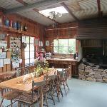 BBQ Hut inside