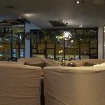 The indoor seats