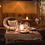 Outdoor dining at GASTRO Saveur, Marrakech