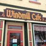 Windmill Cafe in Pella, IA on a snowy Saturday afternoon.