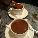 Aztec hot chocolate...lovely!