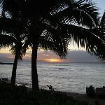 Sunset on Napili Bay