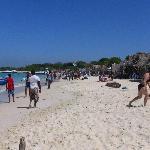 Playa Blanca, plage publique
