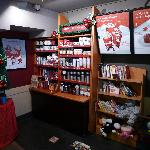 Starbucks in Sai Kung - kids books and toys