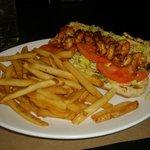 Blackened Shrimp Po-Boy - Amazing Dish!