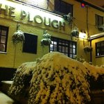 the plough in snow