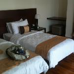 upstairs villa bedroom