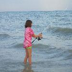 beach fishing