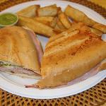Love the cuban sandwich