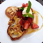 Almond and orange french toast