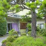 諏訪湖荘の入口