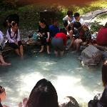 hot spring in the park