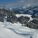 Kitzbuhel skiing