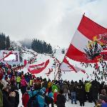 World cup ski race