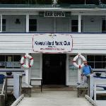 We had lunch at the Kawau Island Yacht Club