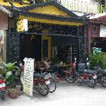 A nice little cafe in Phnom Penh