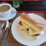 Frühstück (Club Sandwich)