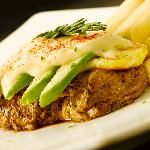 Our famous Haloumi and Avocado Steak