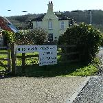 Highdown Inn with Stoats Farm Campsite in the foreground