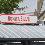 Bonita Bill's sign above one of the back decks