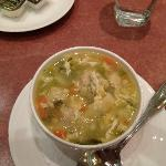 Suppose to be italian wedding soup but tasted like somethign else, it was ok, but not great