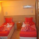 twin bed room hotel VIVA BEACH