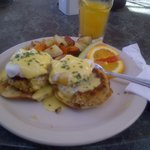Sunday Brunch at Cafe Concordia, St. John-EXCELLENT!
