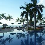 One of the many pools at Decameron
