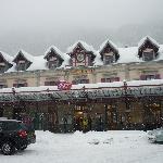 Chamonix station looking like a post card